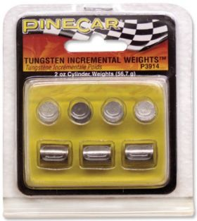 TUNGSTON INCREMENTAL WEIGHTS CYLINDER 2