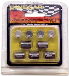 TUNGSTON INCREMENTAL WEIGHTS CYLINDER