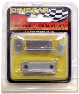 TUNGSTON INCREMENTAL WEIGHTS PLATE 2 OZ.