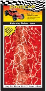 LIGHTNING STRIKES BODY SKIN