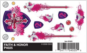 FAITH & HONOR DRY TRANSFER DEC