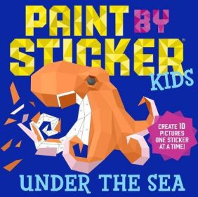 PAINT BY STICKER KIDS:UNDER THE SEA
