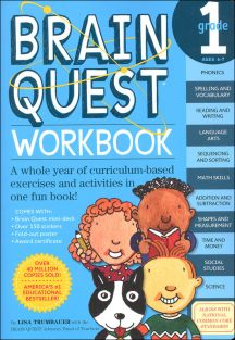 BRAIN QUEST WORKBOOK-GRADE 1