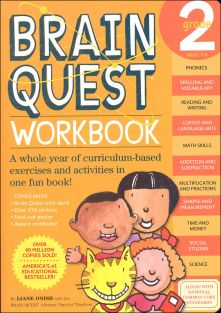 BRAIN QUEST WORKBOOK-GRADE 2