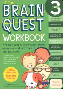 BRAIN QUEST WORKBOOK-GRADE 3