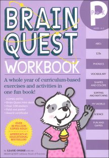 BRAIN QUEST WORKBOOK-PRE-K