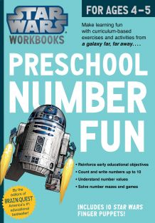 PRESCHOOL NUMBER FUN-STAR WARS