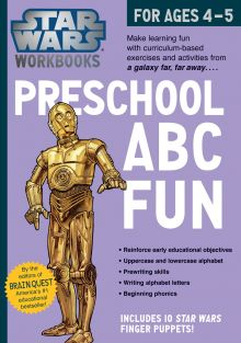 PRESCHOOL ABC FUN-STAR WARS WO