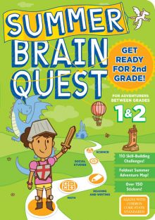 SUMMER BRAIN QUEST WKBK GR 1/2