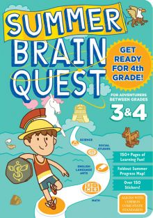 SUMMER BRAIN QUEST GR 3 & 4