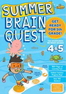 SUMMER BRAIN QUEST WORKBOOK GR