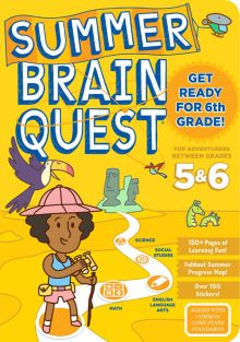 SUMMER BRAIN QUEST WKBK GR 5/6