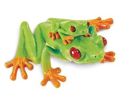 SAFARI LTD SAF100120 RED-EYED TREE FROG INCREDIBLE CREATURES