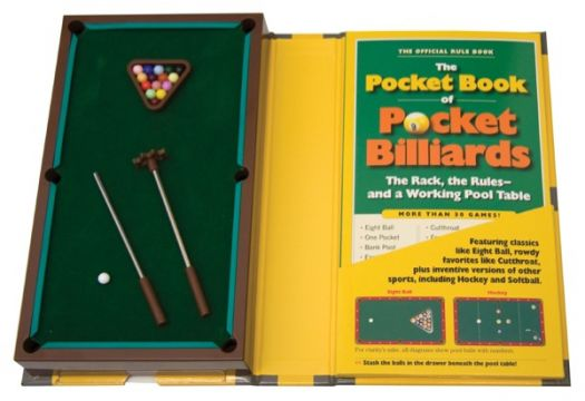 The Pocket Book of  Pocket Billiards The Rack The Rules―And A Working Pool Table
